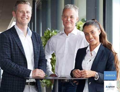 Notora med helt fremme i Apteans nye ERP-partnerprogram